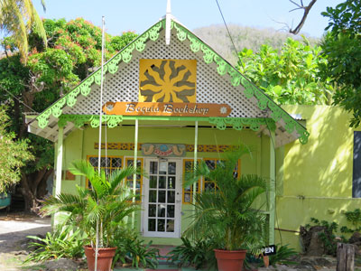 Bequia Bookshop is well worth a visit and sells more than just books.